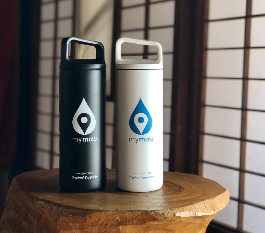 Less Plastic, More Fun! 2020年内に100万本のペットボトル削減に取り組む「mymizu」とは