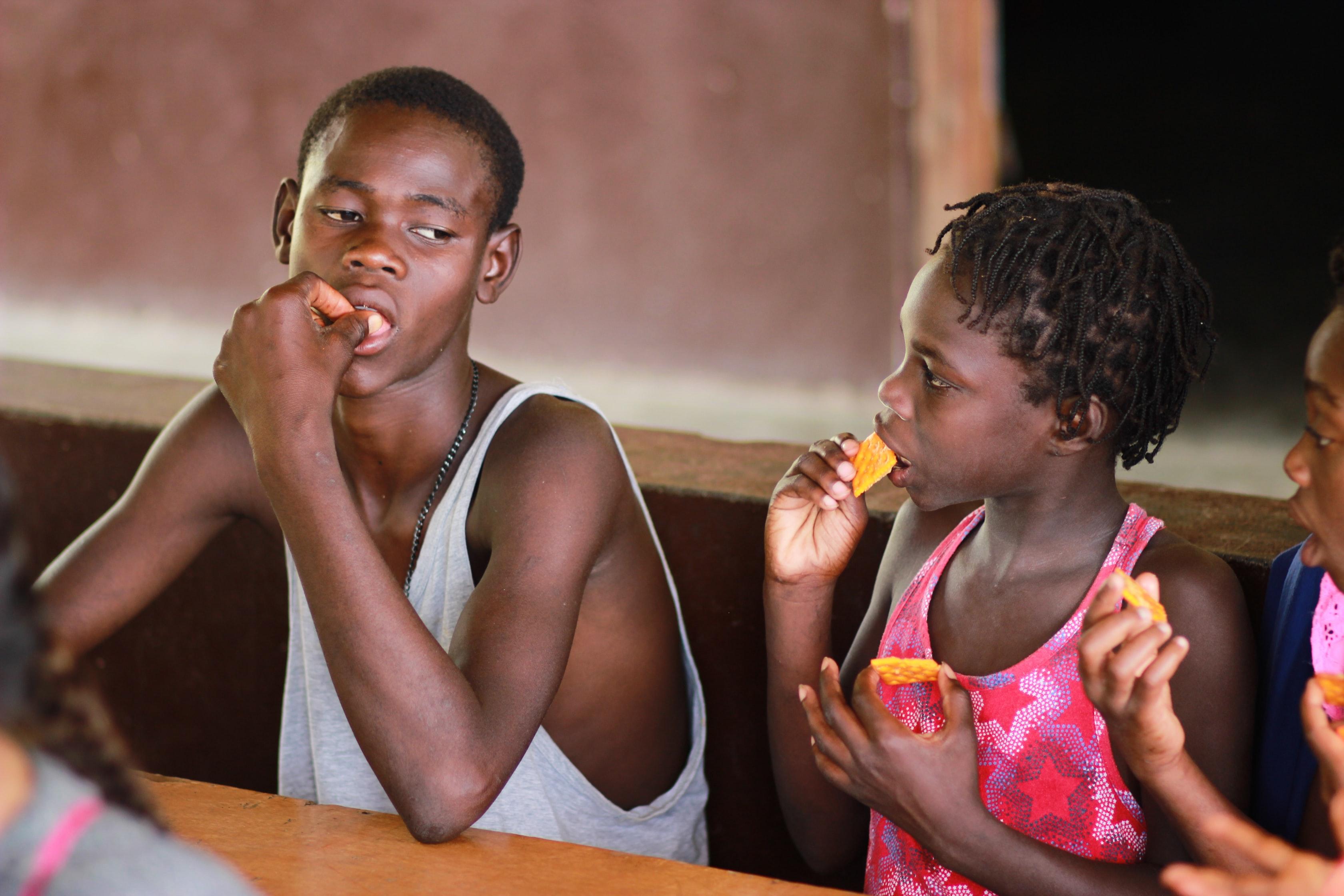 「飢餓」を自分の問題としてとらえ、すべての人が健康に生きられる世界をつくろう